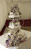 Leicestershire mini wedding cakes derbyshire
