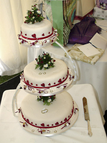 order wedding cake wedding cakes derbyshire nottinghamshire order your 6293