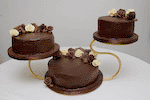 Leicestershire chocolate wedding cakes